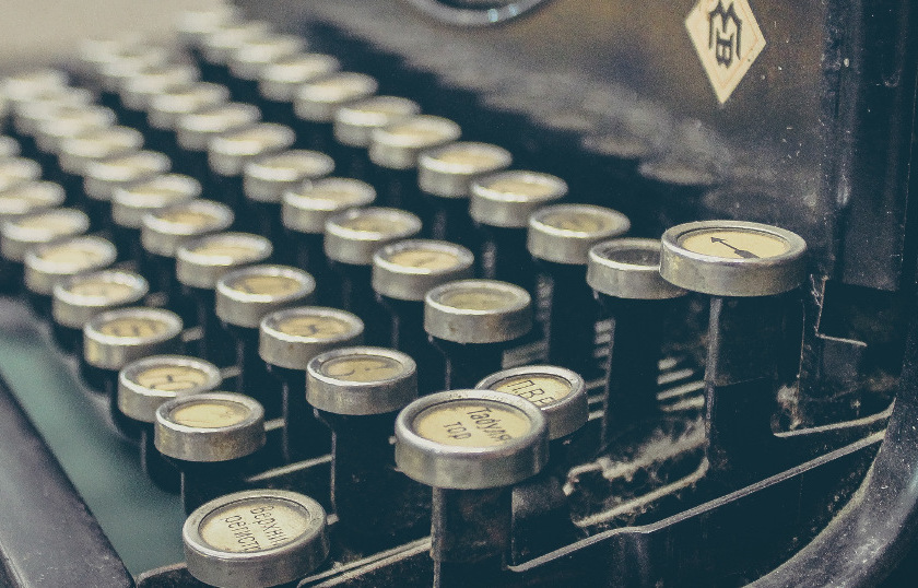 Schreibmaschine von Sergey Zolkin